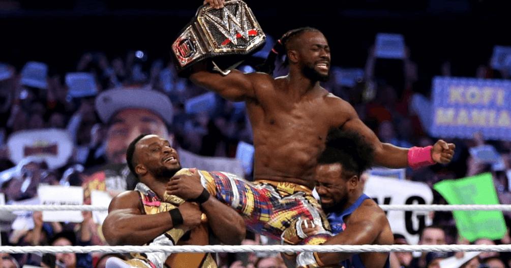 Wrestlemania 35 Kofi defeat Bryan
